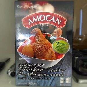 Amocan Chicken curry Paste Complete cooking kit Liverpool Liverpool Area Preview