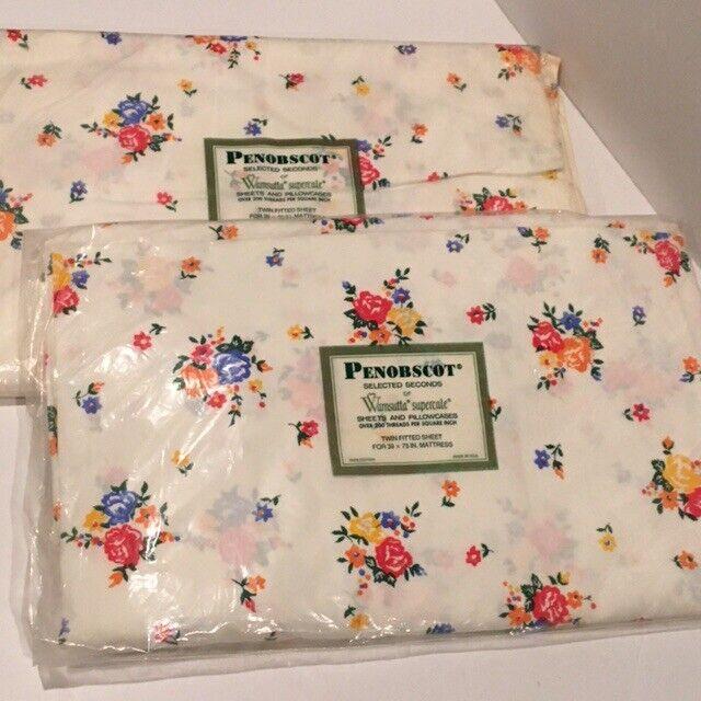 Bundle (2) Wamsutta Superscale Vintage Sheets