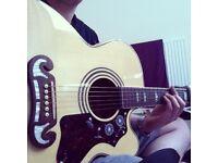 Epiphone ej 200 acoustic great guitar