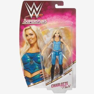 Wwe Action Figure Charlotte Flair Wrestling 15 Cm Mattel