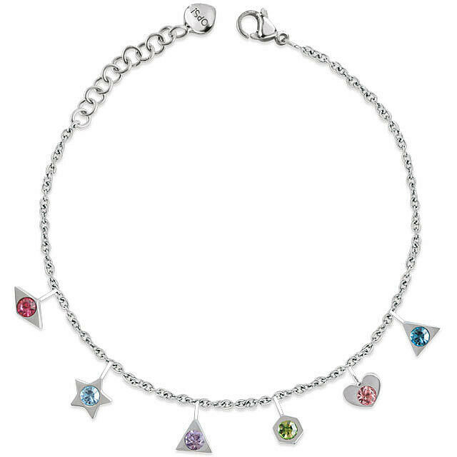 Ops Objects bracciale donna acciaio charms pendenti OPSBR 701 Precious