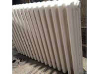 Radiator - vintage cast iron radiator