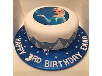 Childrens Kids Birthday Cakes - Disney - Film - Makeup - Adult - Novelty - Wedding - Christening
