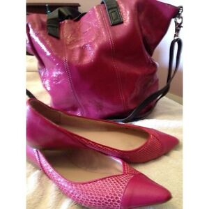 Magenta Mimco shoes and bag Menora Stirling Area Preview