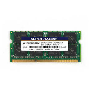 STT 8GB (1x 8GB) DDR3 SODIMM PC3-12800 1600 MHz 204-PIN LAPTOP NOTEBOOK MEMORY