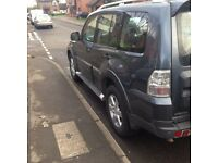 Mitsubishi Shogun 2007 3.2Did 7 Seater Auto MOT Touch Screen SATNAV (CAT D)