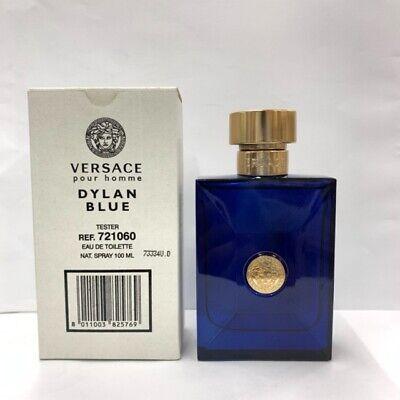 Versace Dylan Blue Eau De Toilette 3.4 oz Spray For Men TESTER