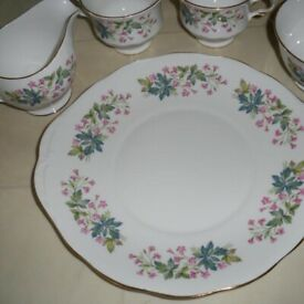 Unused* Rare Queen Anne Tea Set