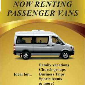 Passenger Van available for all your summer trips...!