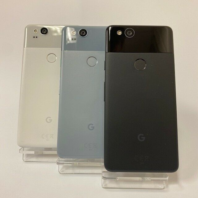 Android Phone - Google Pixel 2 64GB 128GB | Unlocked | Black, White, Blue | Android Mobile Phone