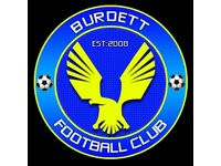 Burdett FC - 11-a-side Football Players Wanted