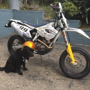 2015 Husky 501 Dual Sport, Potential Snow Bike, Excellent Shape