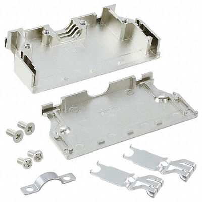 Harting 60030680255 Metal D-sub Male Cable Connector Backshell Shell 68-way