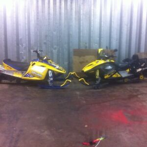Two Skidoos for sale - Package deal!