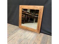 Reclaimed Barn Oak Mirror for sale  Ballymena, County Antrim