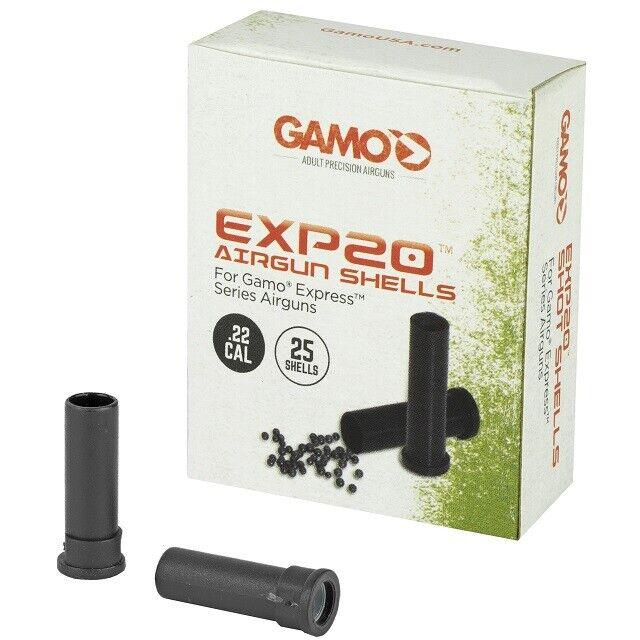 Gamo 632300054 Viper Express 22 Caliber Pellets Airgun Shot Shells 25 Count