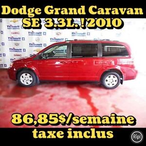 2010 Dodge GRAND CARAVAN SE 3.3 LITRES 7 PASSAGERS