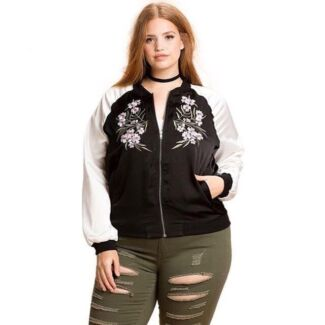 Misguided bomber jacket size 20 | Jackets & Coats | Gumtree ...