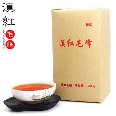Fengqing Dianhong Maofeng Dian Hong Congou Black Tea Premium Mao Feng 200g