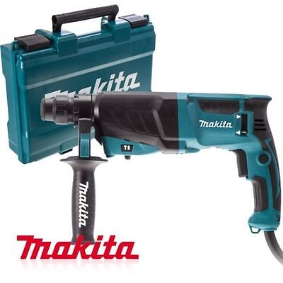 Makita Corded Electric Combination Hammer Drill Hr2630 800w 1200 Rpmmc