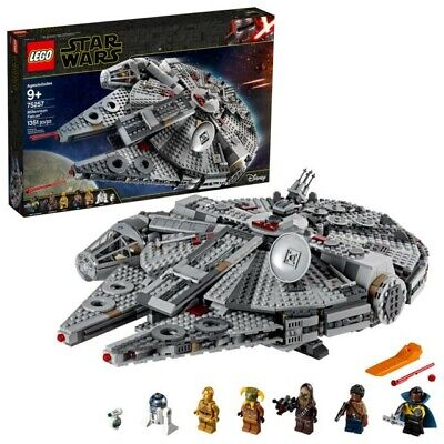 LEGO Star Wars: The Rise of Skywalker Millennium Falcon 75257 New in Box!
