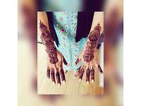Female Henna artist