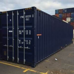 40 Foot High Cube New Build Container Port Melbourne Port Phillip Preview
