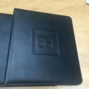Reg size professional leather feel binders