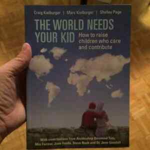 The World Needs Your Kid by Marc and Craig Kielburger Kitchener / Waterloo Kitchener Area image 1
