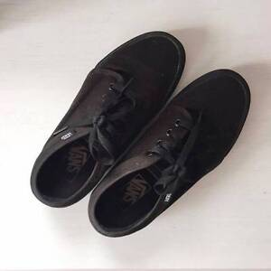 Authentic all black vans sneakers Chatswood Willoughby Area Preview