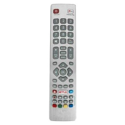 Replacement Remote Control SHWRMC0121 for Sharp Aquos Smart TV-YouTube-Netflix