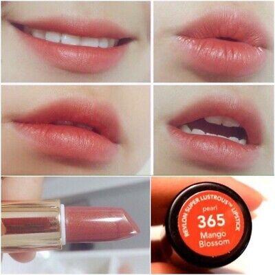 Best Seller Revlon Super Lustrous Lipstick Matte Fabulous Red Pink #006#009#365