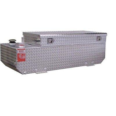 Aluminum Tank Industries 65 Gallon Transfer Tank and toolbox combo TTR65CB