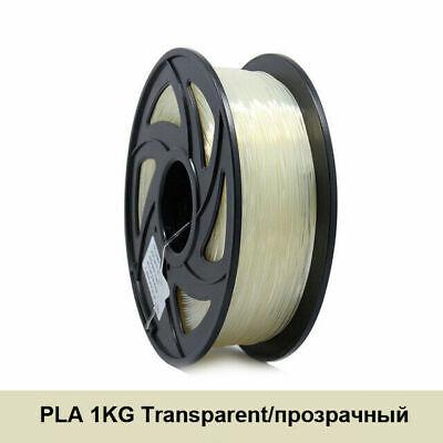 PLA Anet 3D Printer Material Filament Consumables 1.75mm 1KG/2.2LBS Transparent