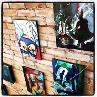 Want to display your art in a local shop?
