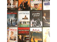 80 DVD's from some of the worlds best movie directors