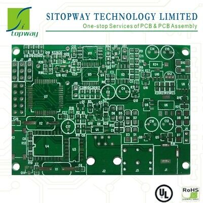 4-layer Pcb Board Etching Manufacture Lt10x10cm 10pcs