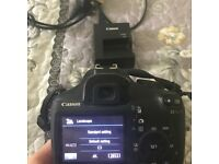 CANON EOS1100D CAMERA WITH BATTER/CHARGER/MEMORY CARD