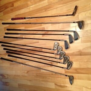Like NEW condition Arnold Palmer Complete Golf Clubs and TNT Bag