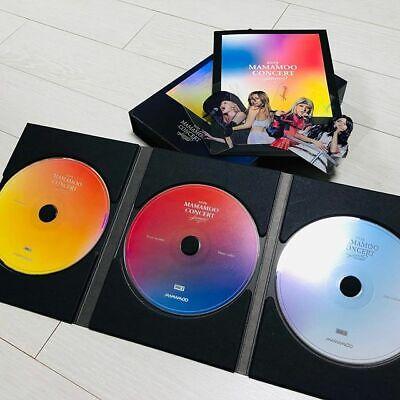 Mamamoo Wheein Solar Hwasa Moonbyul Official 4Season FW Concert DVD Video Kpop