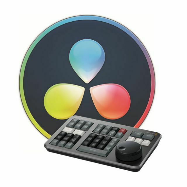 Blackmagic Design DaVinci Resolve Studio (Dongle) w/ Free Speed Editor PREORDER!