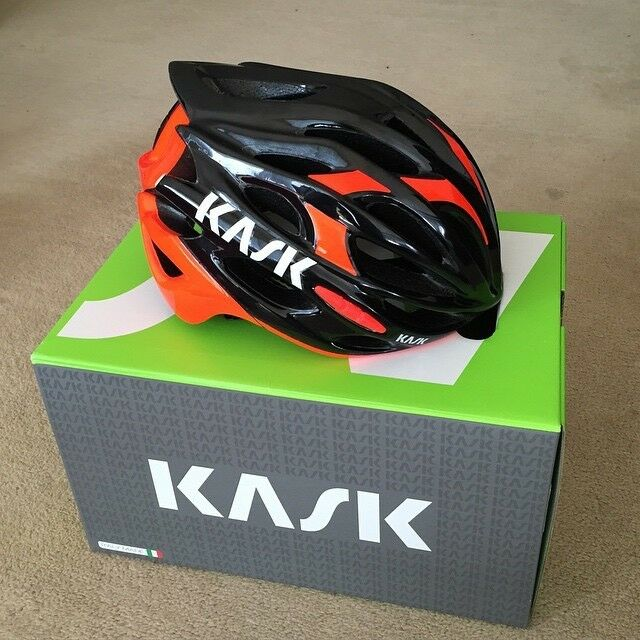 Kask Mojito Black And Red Road Bike Cycling Helmet Unused