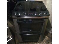 £139.25 zanussi sls/blackceramic eelctric cooker+60cm+3 months warranty for £139.25