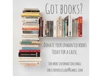 Got Books? Donate your unwanted books today for a cause!