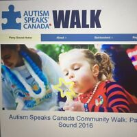 2nd Annual Parry Sound Autism Speaks Canada Walk