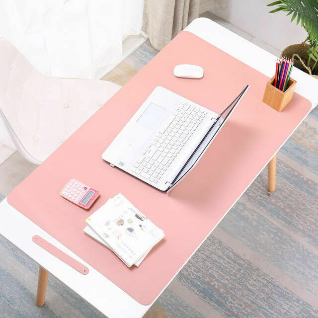 Computer Games - Top Quality Large Leather Office Computer Desk Mat Table Game Keyboard Mouse Pad