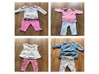 Next Huge bundle of baby girls clothes 0-3