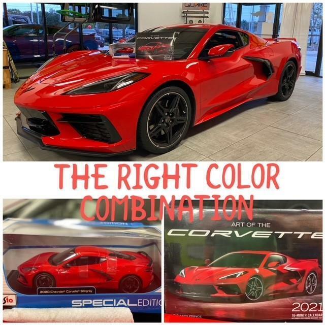 2020 Red Chevrolet Corvette  1LT | C7 Corvette Photo 8