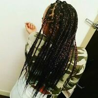 Braids, Curls, Twists and Twirls even African Food