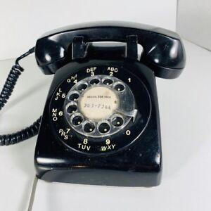 téléphone rotatif  Noir - AUTHENTIC